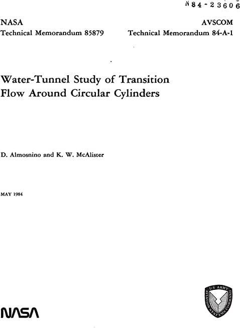 Water-tunnel study of transition flow around circular cylinders (English Edition)