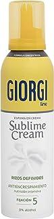Giorgi Line - Sublime Cream Espuma en Crema Rizos Definidos sin Encrespamiento Fórmula Concentrada 0% Alcohol 0% Silicon...