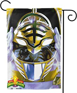 """NICSWINGOO Garden Flag - Mighty Morphin Power Rangers Unique Decorative Outdoor Yard Flags for Your Home 28"""" X40"""