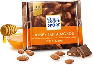 Ritter Sport Honey Salted Almonds, 100 gm