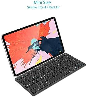 Arteck Ultra-Slim Bluetooth Keyboard Compatible with iPad 10.2-inch/iPad Air/iPad 9.7-inch/iPad Pro/iPad Mini, iPhone...