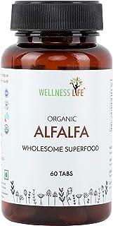 Wellness Life Alfalfa Superfood Tablet Nutritional Supplement - 60 Tablets
