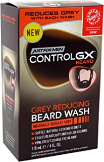 Just For Men Control Gx 4 Ounce Beard Wash Boxed (118ml) (2 Pack)