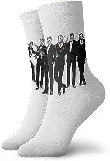 Yuanmeiju, calcetines de punto James Bond 007 Socks Unisex Soft Ankle Socks Low Cut Cushioned Wicking Athletic Socks For Men Women
