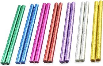Xinlie Standaard lijmsticks gekleurde lijmsticks pigment bar hete lijm voor hete lijmpistolen Ø11 mm 14 stuks gekleurde li...