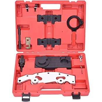 Goplus Camshaft Alignment Timing Tool Kit, Multiple Tools to Meet Various Needs, Timing Tool Set w/Double Vanos for BMW M52TU M54 M56 Engines