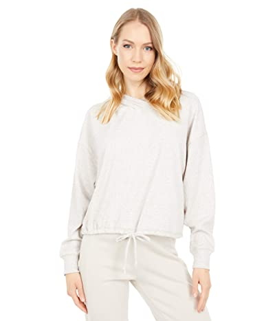 Chaser Linen Rib Long Sleeve Pullover Hoodie
