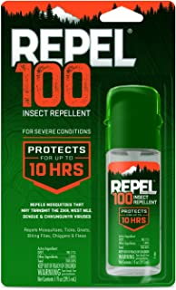 Repel 100 Insect Repellent, Pump Spray, 1-Ounce