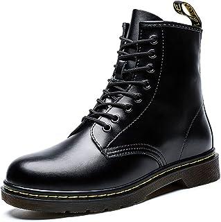 Pluche Leren Laarzen Waterdicht/Slip Schoenen Fashion Casual Snowboots Martin Boots Voor Heren En Dames Geschikt Voor Buit...