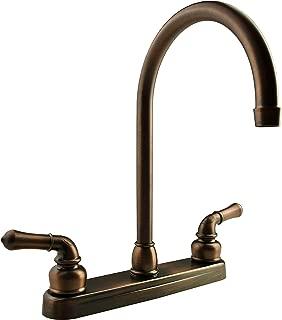 Dura Faucet DF-PK330HC-ORB RV J-Spout Kitchen Faucet (Oil-Rubbed Bronze)