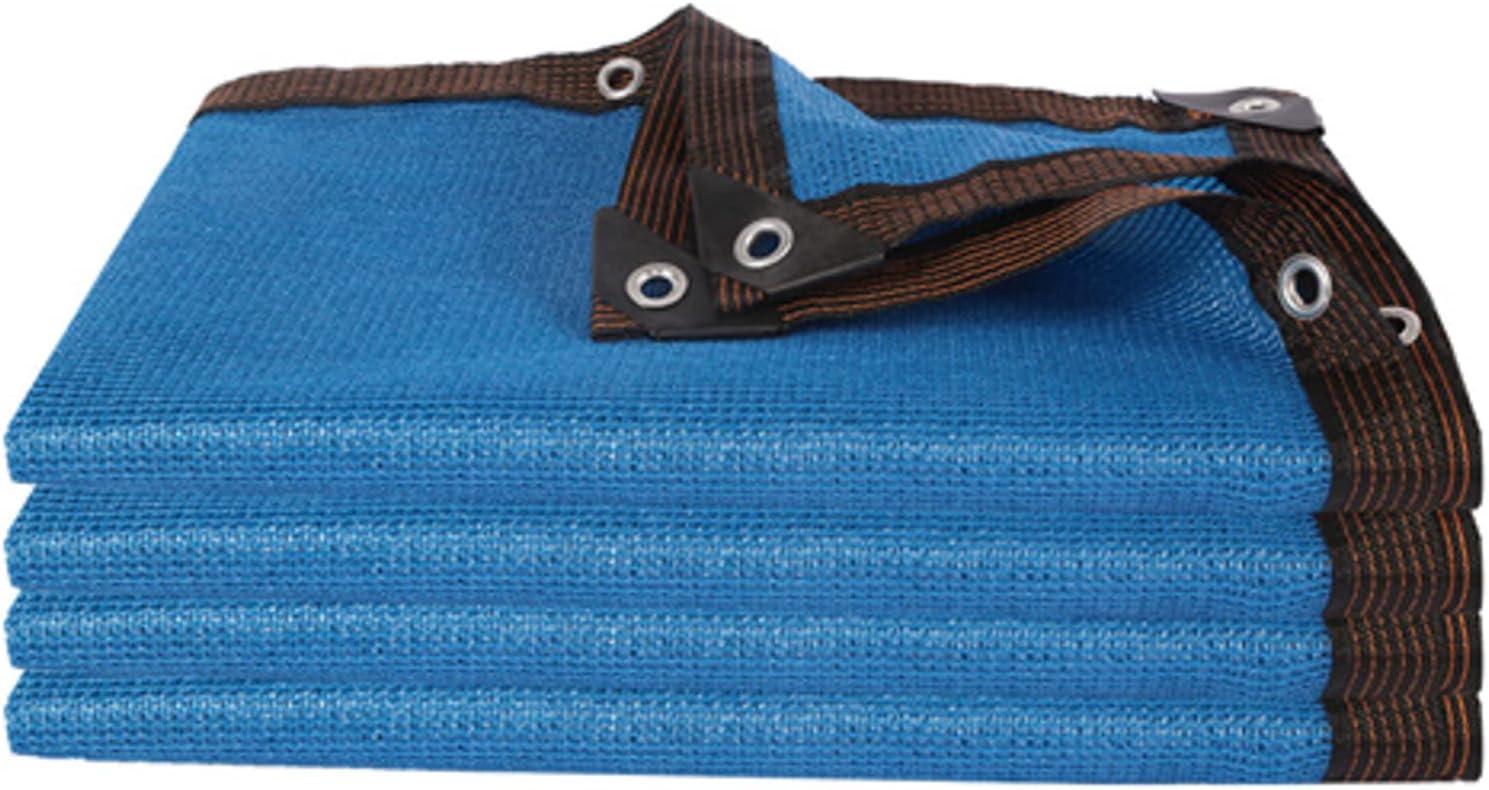 OeltWsoif Blue Heat Insulation High material Shade Resista Uv Washington Mall Encryption Cloth