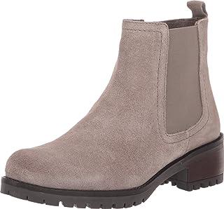 سكيتشرز LUGNUT - حذاء تشيلسي من الجلد السويدي مع رباط مطاطي حذاء أنيق للمرأة