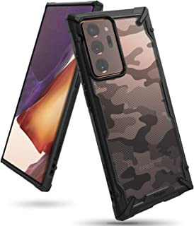 Ringke Fusion X Design Case Made to Fit Galaxy Note 20 Ultra, Galaxy Note 20 Ultra 5G (2020) - Camo Black