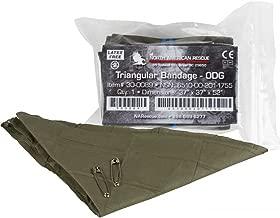 NAR Triangular Bandage w/ 2 Pins - OD Green