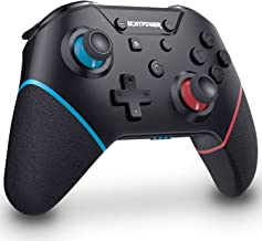 $25 » [2021 New Version] Wireless Switch Pro Controller with 4 Additional Buttons ECHTPower Remote Game Controller for Nintendo ...