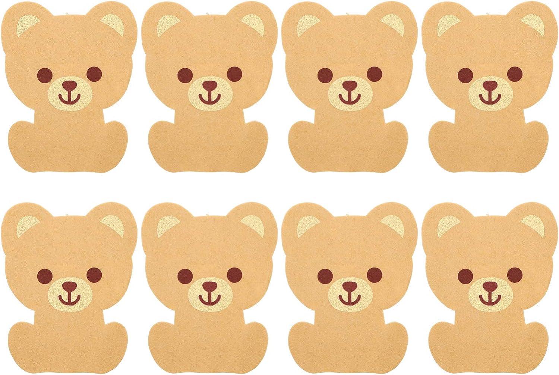 Komopesu 8- Piece Toilet Deodorant Thick Rare Felt specialty shop Decals Stickers To