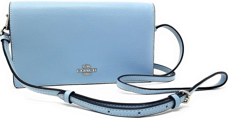 Surprise price Coach Women's Anna New product Crossbody Clutch Foldover