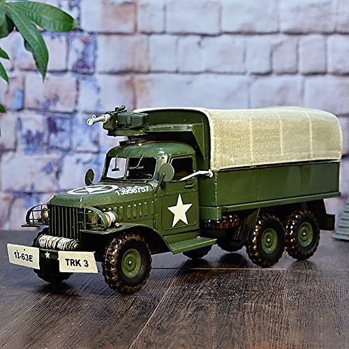 liquidación hasta el 70% Modow Edición Conmemorativa del Camión Militar del Transporte Transporte Transporte de Combate Americano Retro, Decoración Creativa de Los Artes  excelentes precios