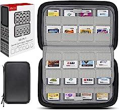 کارتهای بازی Sisma 64 دارندگان حالت ذخیره سازی جهانی برای سازماندهی Nintendo 3DS 2DS DSi Switch Cartrges - Black SVG190402GC