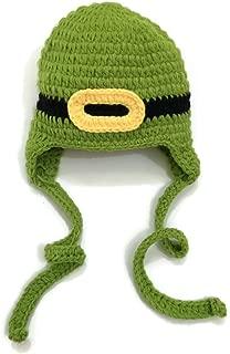 St Patrick's Day Leprechaun Crochet Beanie Photo Prop Costume Hat Green