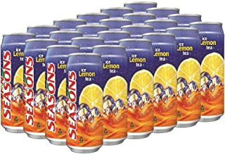 Seasons Ice Lemon Tea Can, 300ml (Pack of 24)