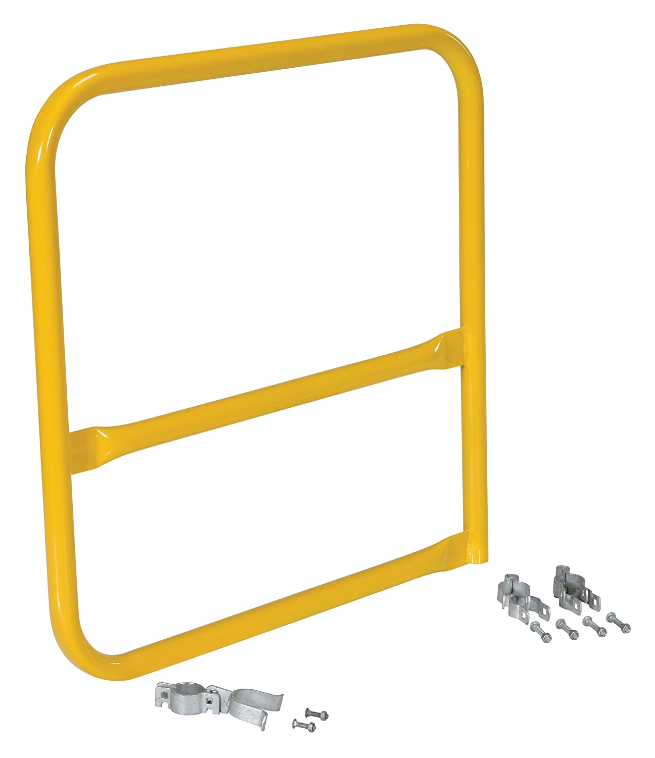 VESTIL VDKR-G3-B Special price Easy-to-use for a limited time Steel Safety Guardrail Door Swing 3' Length