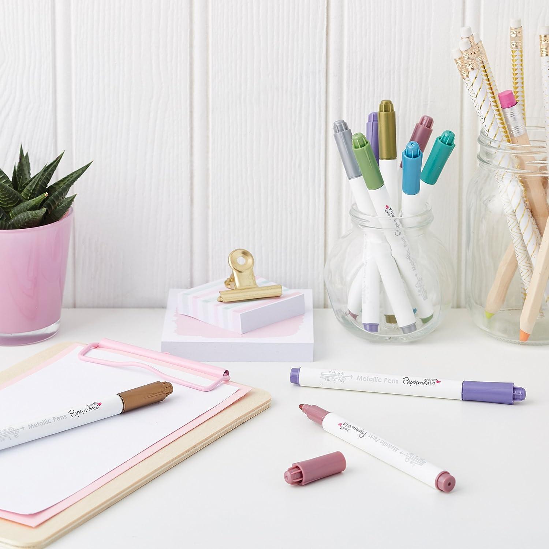 Metallic Pens 8 Shimmery Colours