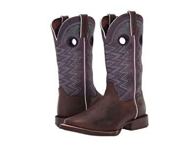 Durango 12 Lady Rebel Pro Western (Dark Earth/Amethyst) Women