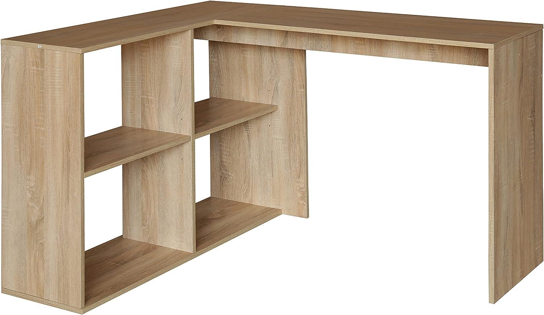 """47"""" High material L Shaped Bargain Corner Computer Table Board Wood Desk Workstation"""