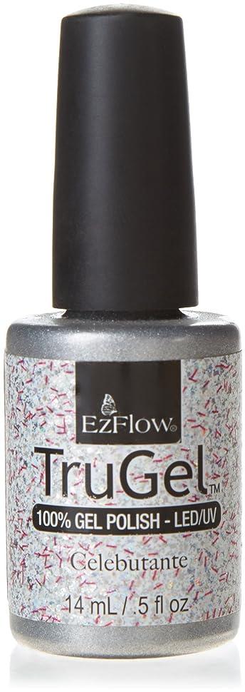 優先穏やかな宇宙船EzFlow TruGel Gel Polish - Celebutante - 0.5oz / 14ml