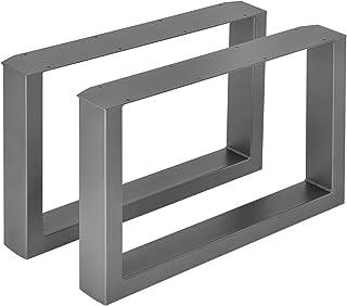 [en.casa]®] 2 x Conjunto de Patas de Mesa - Set