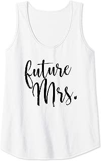 Womens Matching Bachelorette Future Mrs Tank Top