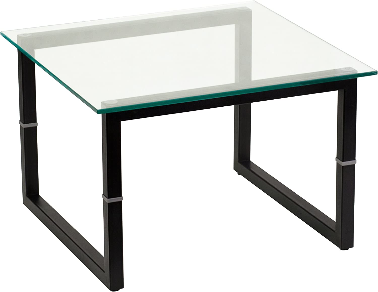Flash Furniture FD-END-TBL-GG Glass End Table, Clear