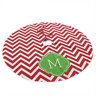 Best red and white chevron tree skirt Reviews