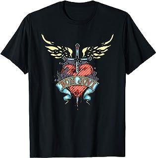 Unbekannt Bon Jovi Daggered T-Shirt T-Shirt