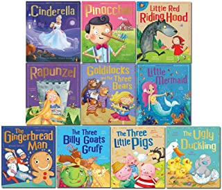 My First Fairy Tales Classics 10 Books Collection Set (The Three Little Pigs, Goldilocks and the Three Bears, Little Red R...