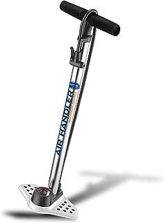 BIKETUBE Air Handler Bike Floor Pump | Bicycle Accessories | Industrial Gauge | Kraton Grip | Presta and Schrader | High Pressure