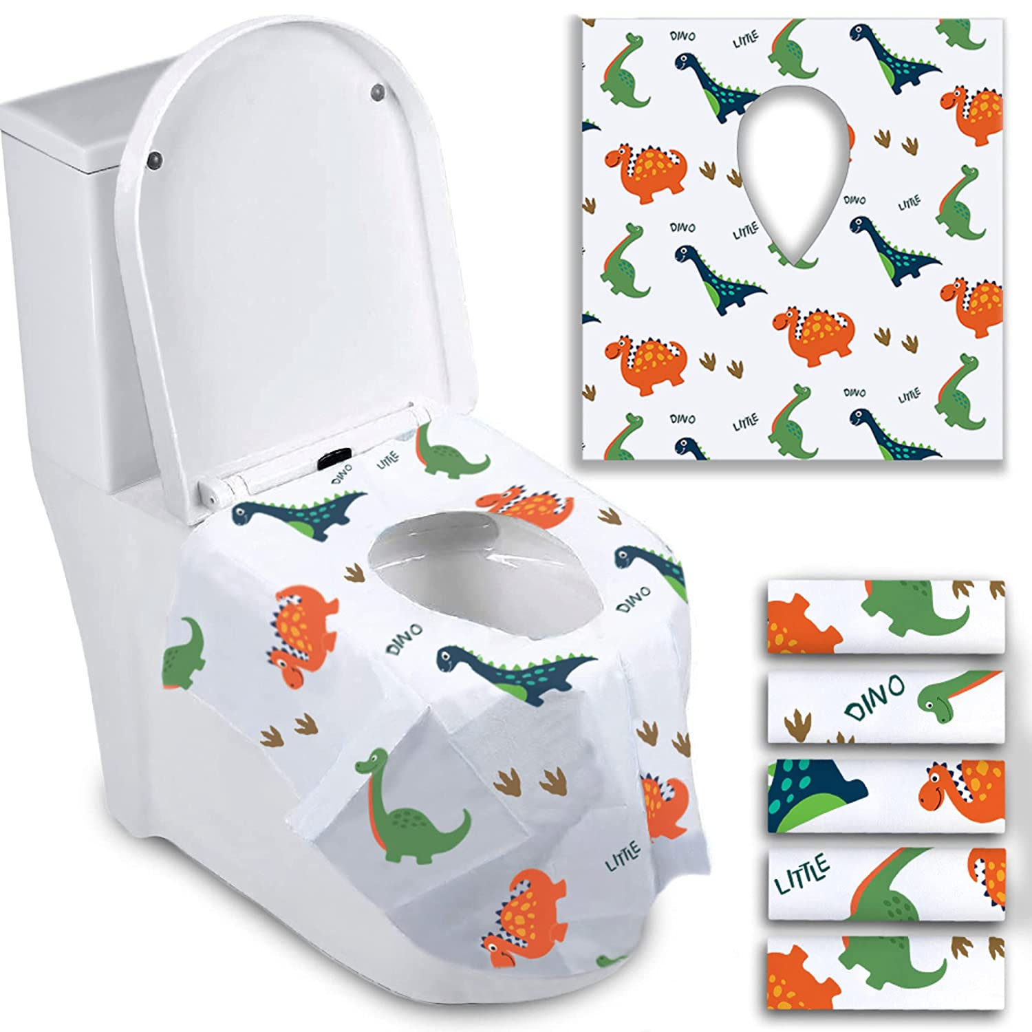 Disposable Special sale item Toilet Seat Covers for Individually Luxury goods Wrappe Toddlers -