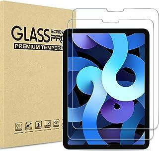 【2 Pack】 ProCase New iPad Air 4 Screen Protector 10.9 2020/ iPad Pro 11 2021 2020 2018, Tempered Glass Screen Film Guard f...