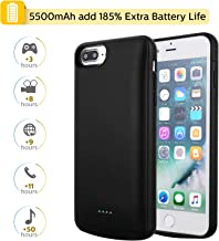 Mbuynow 4200mah funda de batería batería adicional para iPhone 6//6s//7 Plus Power case batería