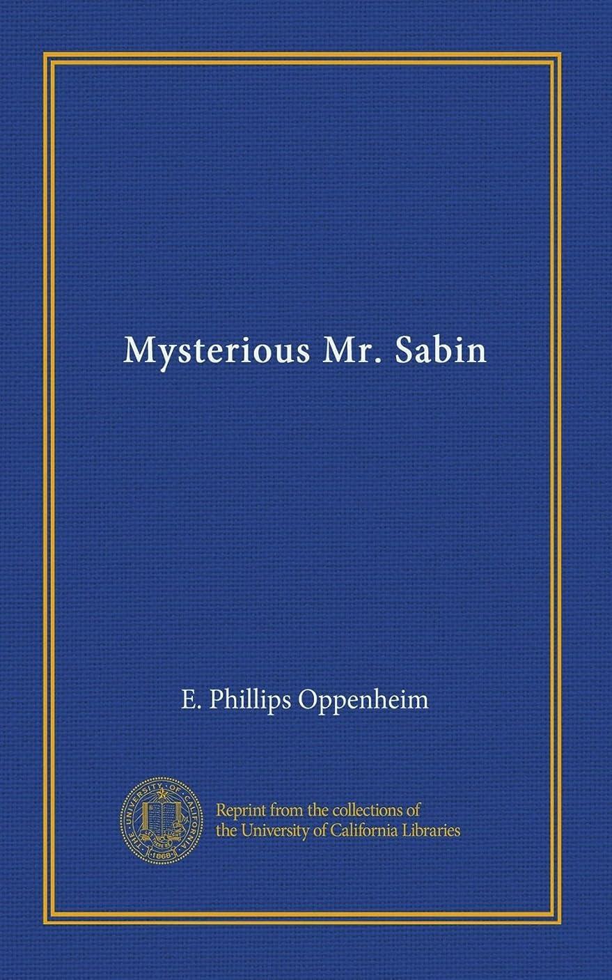 小学生すり境界Mysterious Mr. Sabin