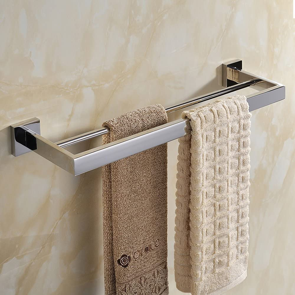 Leyden 1 Piece Wall Mount Chrome Finish Stainless Steel Toilet Roll Paper Holder Bathroom Accessory