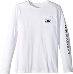 Long Sleeve Vampire Whale Tee (Toddler/Little Kids/Big Kids)