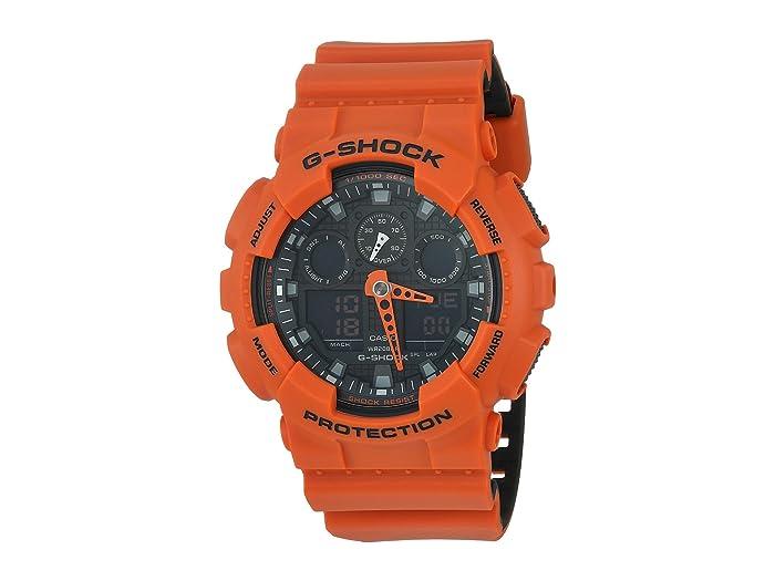 G-Shock  GA-100L (Orange) Sport Watches