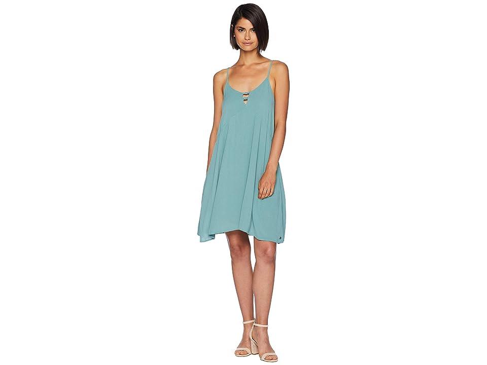 Roxy Full Bloom Woven Tank Dress (Trellis) Women