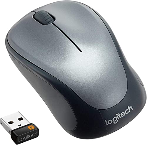 Logitech M235 Wireless Mouse, 2.4 GHz with USB Unifying Receiver, 1000 DPI Optical Tracking, 12 Month Life Battery, C...