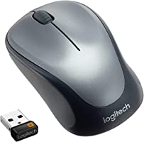 Logitech M235 Wireless Mouse, 2.4 GHz with USB Unifying Receiver, 1000 DPI Optical Tracking, 12 Month Life Battery,...