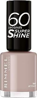 Rimmel London, 60 Seconds Super Shine Nail Polish 561#Yolo, 8 ml - 0.25 fl oz