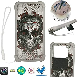 Case For Tecno Spark 4 Lite Case Silicone border + PC hard backplane Stand Cover KLH