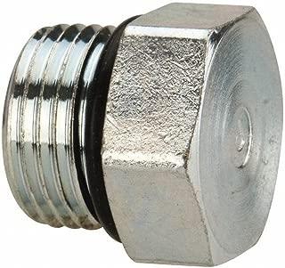 Parker 4 P5ON-S SAE Hex Head Pipe Plug 7/16-20 ORB Male Steel